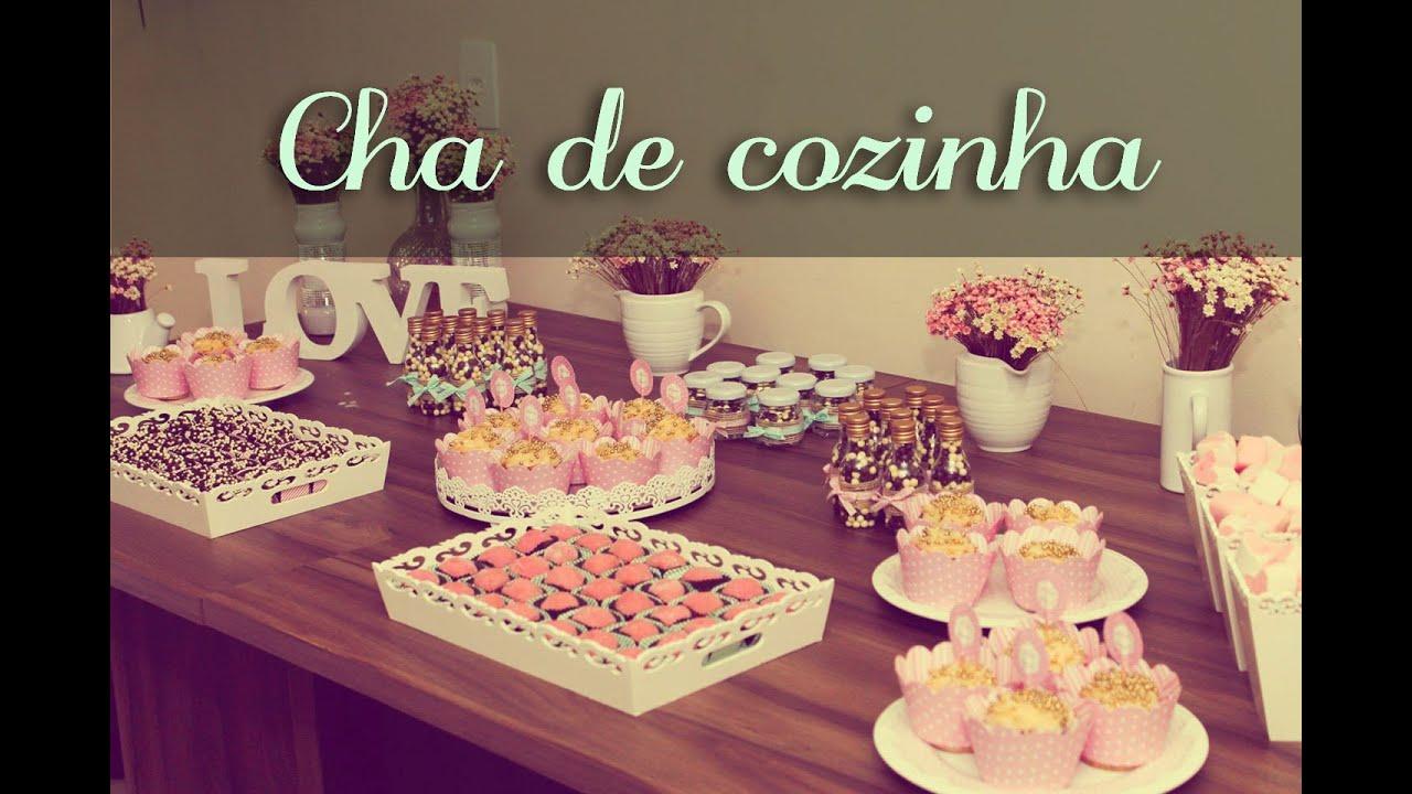 Decoração: Chá Cozinha Verde e Rosa da Naty   #47143B 1440 960