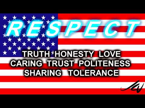 R E S P E C T -  Values to live by  - YouTube