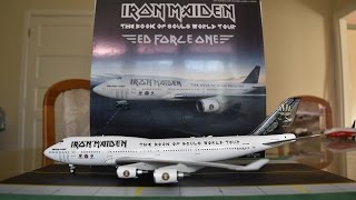 Video Inflight 200 Iron Maiden 'Ed Force One' 747-400 Unboxing and Review download MP3, 3GP, MP4, WEBM, AVI, FLV Juni 2018