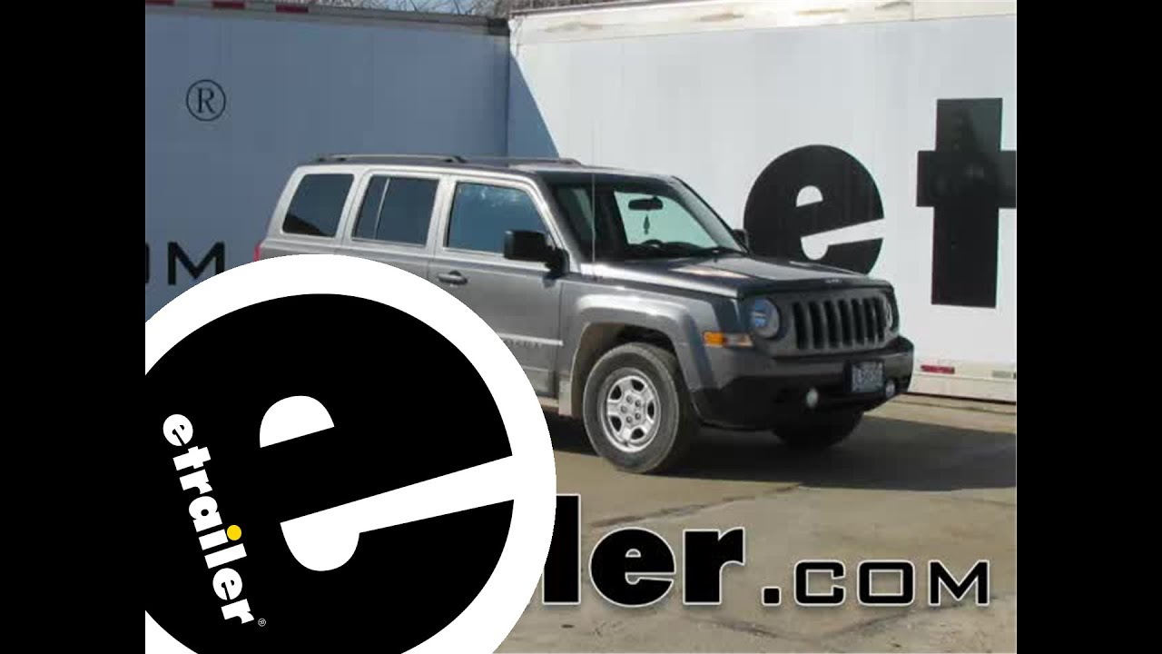 hight resolution of install trailer hitch 2014 jeep patriot c12057 etrailer com