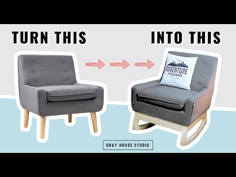 Rocking Chair Base Build // DIY