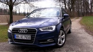2016 Audi A3 2.0 TDI S-Tronic (150 HP) Test Drive | by TEST Drive Freak