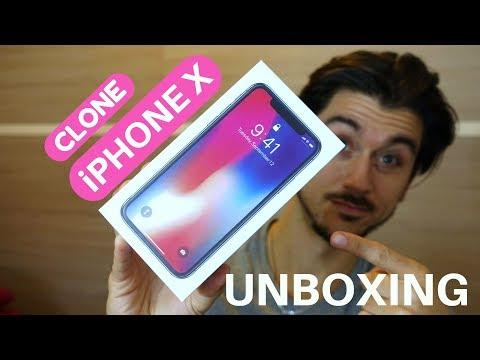 Goophone Unboxing | CLONE di iPHONE X è arrivato!