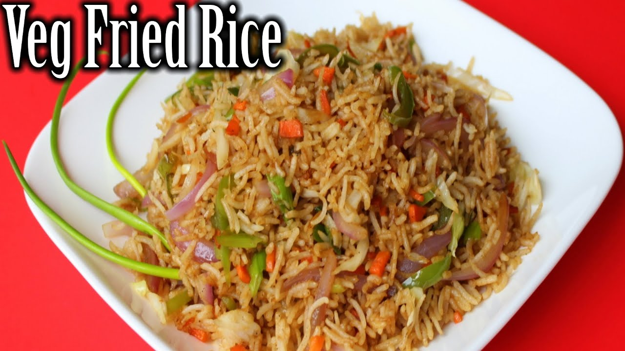 Veg fried rice recipe chinese fried rice vegetable fried rice veg fried rice recipe chinese fried rice vegetable fried rice how to make veg fried rice forumfinder Images