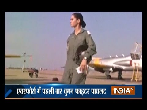 Meet India's First Batch Of Three Female Fighter Pilots Commissioned Today