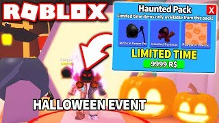 I BOUGHT THE NEW *HALLOWEEN* HAUNTED PACK in MINING SIMULATOR UPDATE!! (Roblox)