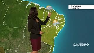 Previsão Nordeste – Frente fria se aproxima