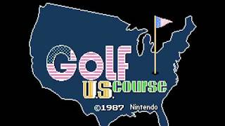 Family Computer Golf - U.S. Course(FDS)(Japan)(DV 0) Intro(Take 2)(08-02-17)