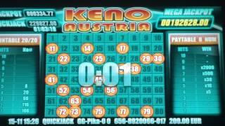 Keno Austria Win!!!