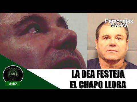 La DEA celebra veredicto con video de Joaquín Guzmán llorando
