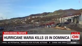 First Images from Shattered Dominca, every inch was damaged by Hurricane Maria