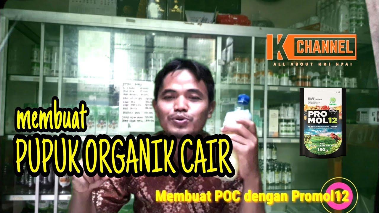 Membuat Pupuk Organik Cair dengan Promol12