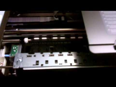Replacing A Printhead Hp Officejet Pro 8100 Eprinter