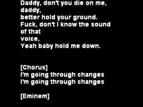 Eminem Going Though Changes Lyrics (ft) Ozzy Osbourne