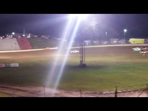 2nd feature win of the year. - dirt track racing video image