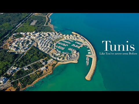 Tunis Like You've never seen Before 4K - تونس العاصمة كما لم