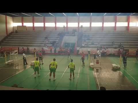 "Kejurnas Sepaktakraw Palu ""SUDIRMAN CUP 2017"", Gorontalo vs Jawa Tengah #Set1 #Semifinal"