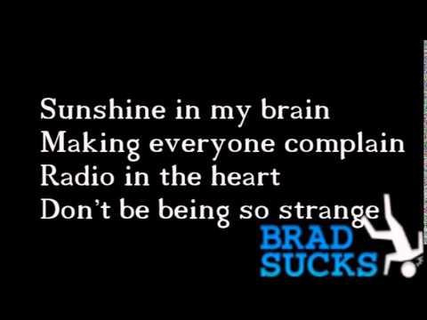 Brad Sucks - Making Me Nervous karaoke
