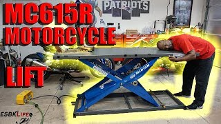 My new K&L MC615R Motorcycle Air Lift!!!