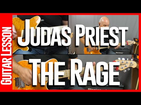 The Rage By Judas Priest - Guitar Lesson