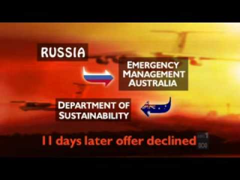 21 10 09 ABC 1 News Andrew McIntosh on Russian Firejets