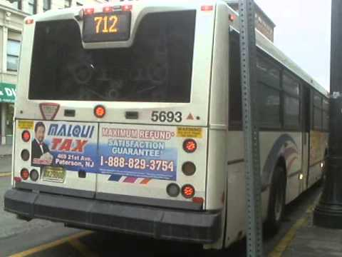Nj Transit Hackensack Bound Nabi 416 15 5693 On The