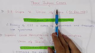 COLLEGIUM SYSTEM (APPOINTMENT OF JUDGES IN INDIA)