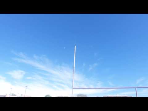 Rocket launch at Bill Reed Middle School