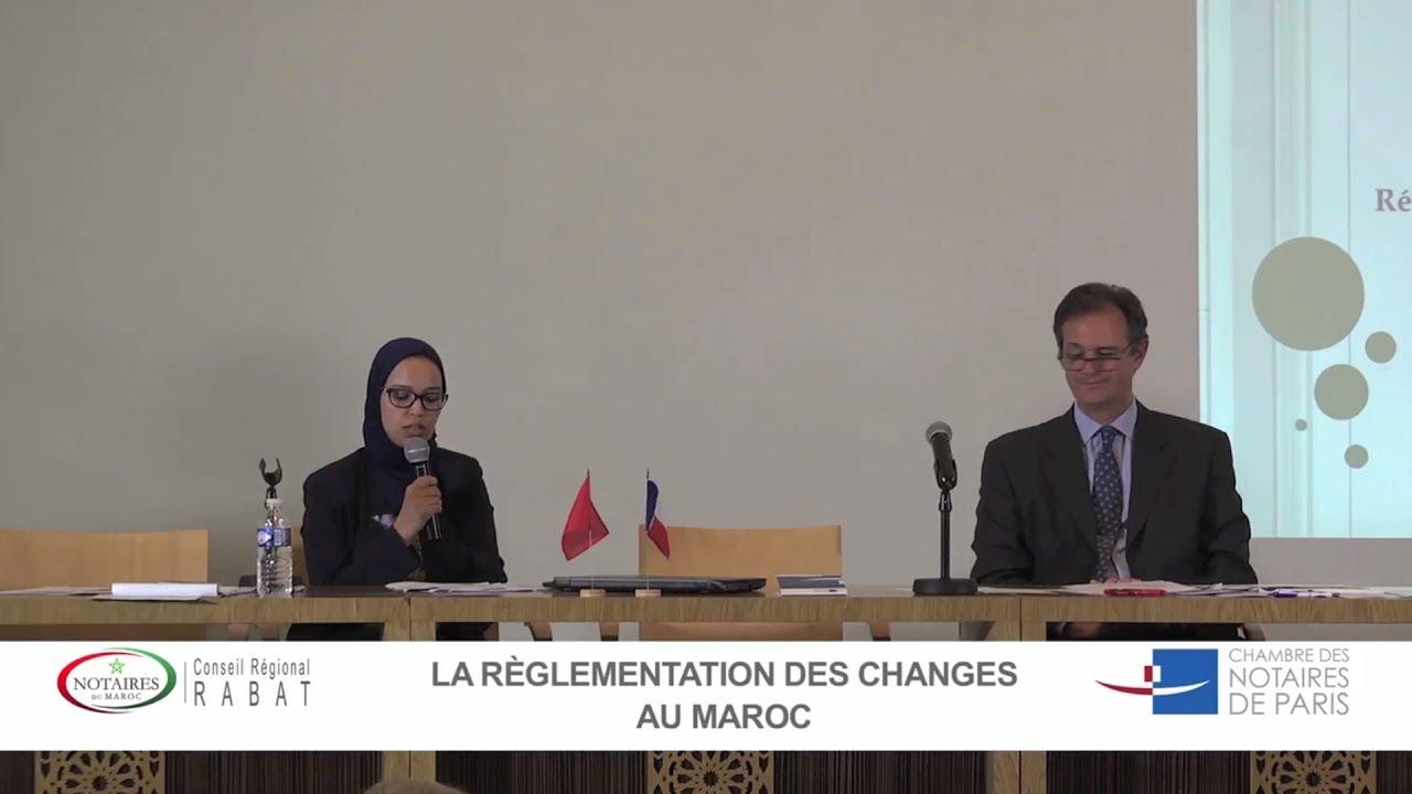 Colloque France Maroc 2017 La Reglementation Des Changes Au Maroc