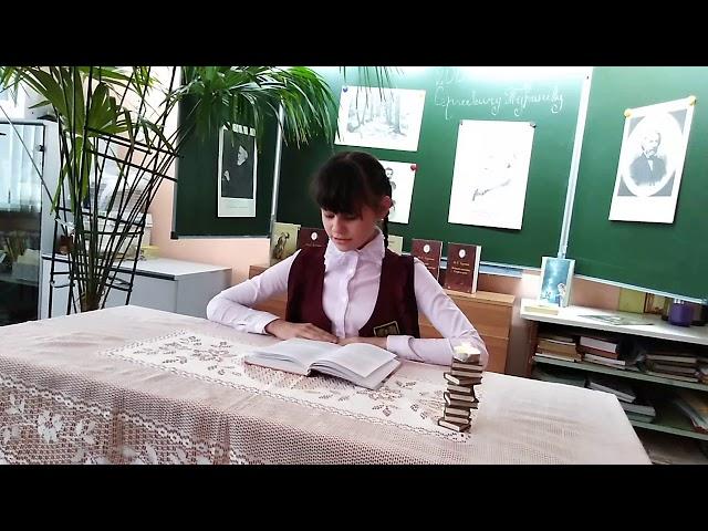 Изображение предпросмотра прочтения – СветланаРетунская читает произведение «Стихотворение в прозе. Два богача» И.С.Тургенева