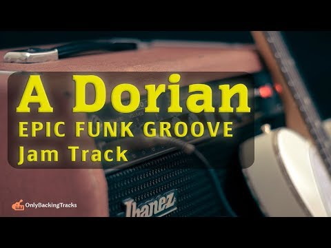 30 Minute Epic Funk GROOVE Backing Track (A Dorian)