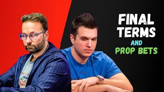 Doug Polk vs Daniel Negreanu : Final Poker Terms and Prop Bet