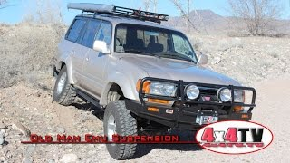 4x4TV Product Review - Old Man Emu Suspension Lift on Toyota Land Cruiser