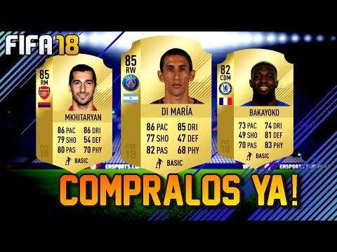 COMPRALOS YA!! MARKET CRASH! AÑO NUEVO CHINO! FIFA TRADEOS! FIFA ULTIMATE TEAM 18!!