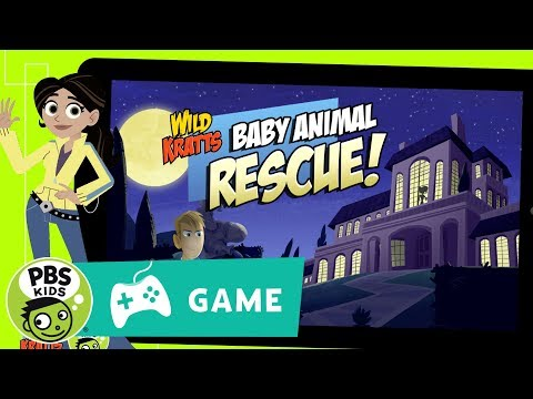 WILD KRATTS | Baby Animal Rescue Game Trailer | PBS KIDS