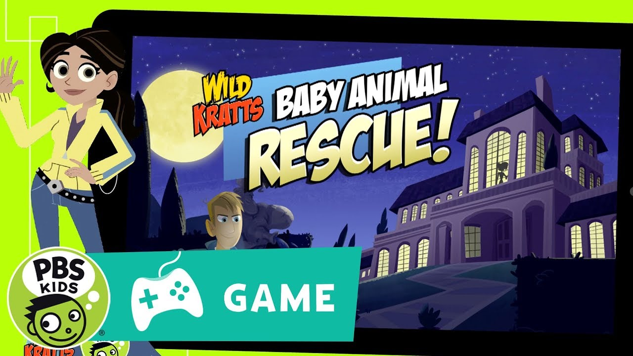 WILD KRATTS | Baby Animal Rescue Game Trailer | P