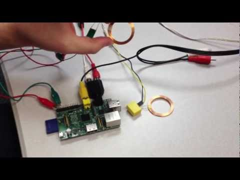 Wirelessly Powering a Raspberry Pi (with Inductive Charging) and Nyan Cat