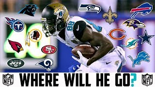 2018 NFL FREE AGENCY PREDICTIONS - ALLEN HURNS Bears Niners Jets Panthers Ravens Cowboys Titans 2017 Video
