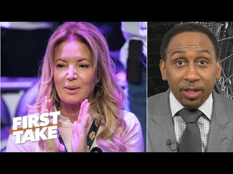 Lakers fans protesting outside of the Staples Center is the last stand – Stephen A. | First Take