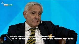 """Rosendo Fraga en """"Encuentro de ideas"""", con J.Fernández Díaz - 23/04/18"""
