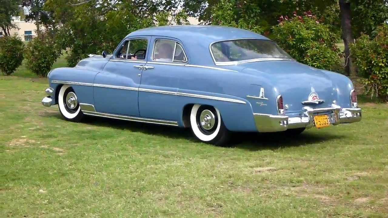 1951 mercury sedan for sale youtube for 1951 mercury 4 door sedan