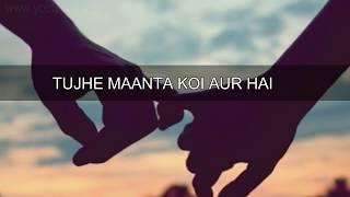 Tu Pyar Hai Kisi Aur Ka ❤ || Kumar Sanu Hits ❤ || Old : Sad : Love  WhatsApp Status Video 2017