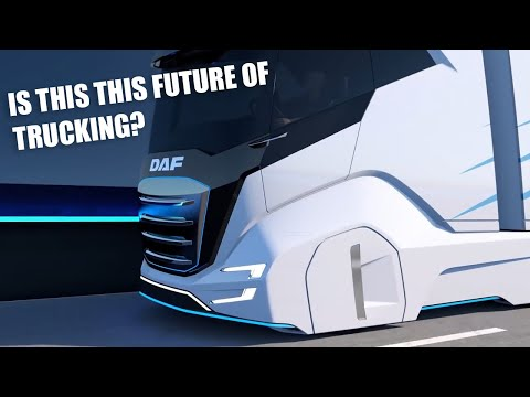 DAF Trucks | Taking the lead to less CO2 - Trucks of the Future | Promotional Video