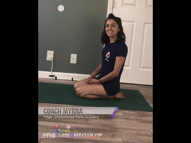 Myrna Yoga Chaturanga Cobra