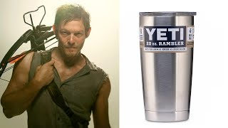 Can YETI Cup stop a crossbow BOLT/ ARROW?   COOL SCIENCE  EXPERIMENT.
