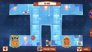 King of Thieves Insane Base Defences - Base 3 - Delayed Fly Squeeze into Falling Star