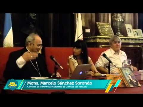 Sánchez Sorondo en la Presentación de Mama Antula