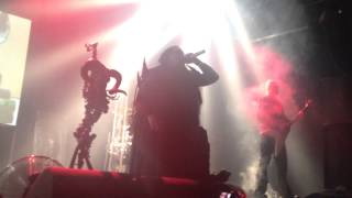 Cradle of Filth - A Dream of Wolves in The Snow (Live) - 2014 [HD]