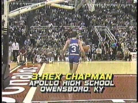 Rex Chapman . The Flip . 1986