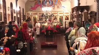 Пасха в Благовещенском кафедральном соборе Буэнос-Айреса